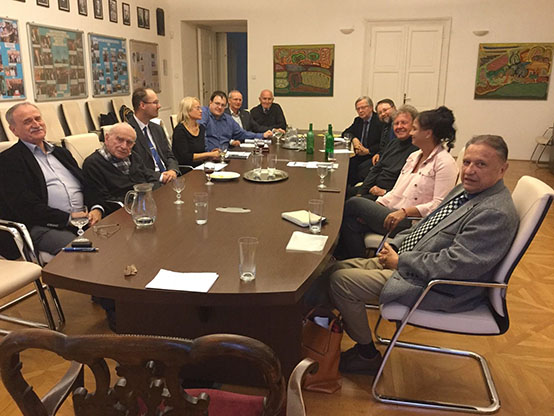 Meeting of the Comenians at the Czechoslovak Foreign Institute on Oct.3,2019